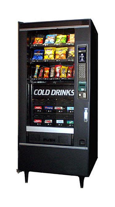 national vendors model 474 combo soda  snack machine
